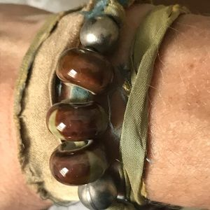 Jewelry - Handmade Triple Wrap Bracelet